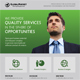 Corporate Business Poster Template V12
