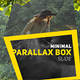 Minimal Parallax Box - VideoHive Item for Sale