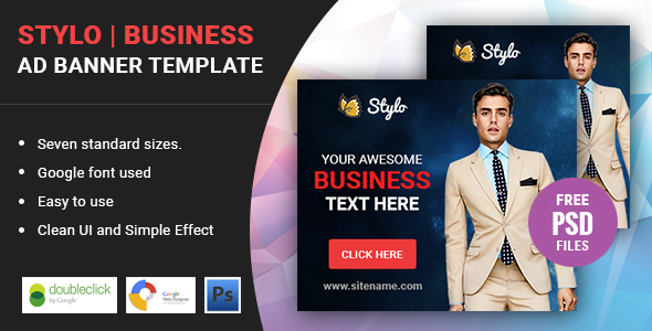 Stylo | HTML 5 Business Animated Google Banner - CodeCanyon Item for Sale