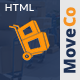 MoveCo - Moving Company HTML Template with Visual Builder and Admin Dashboard