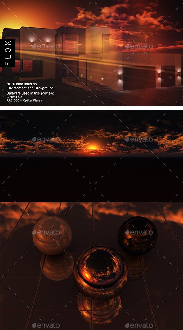 Sunset Desert 89 - 3DOcean Item for Sale