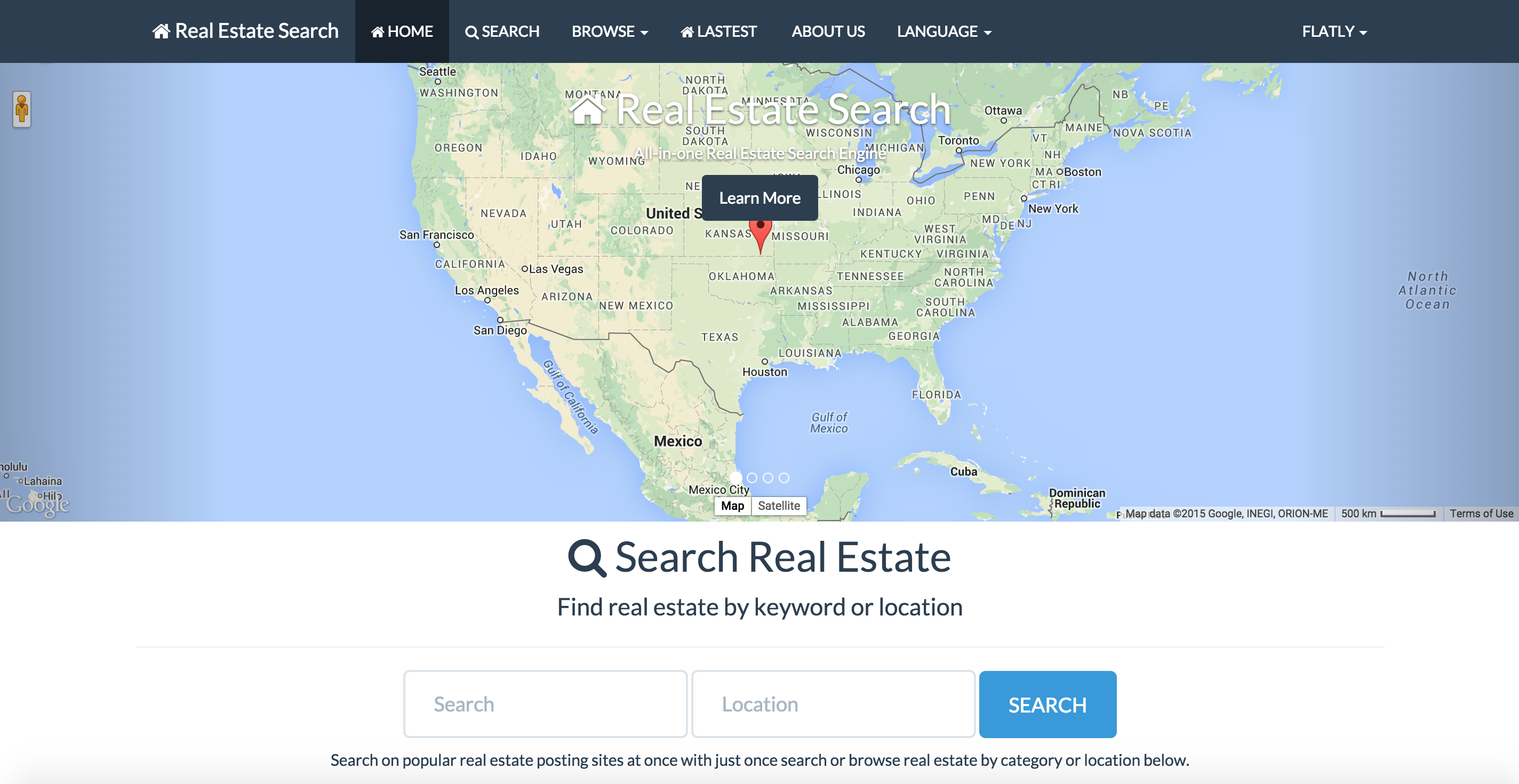 Instant Real Estate Search Engine