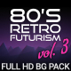 80s Retro Futurism Background Pack vol.3 - VideoHive Item for Sale