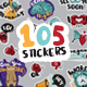Hello Stickers - GraphicRiver Item for Sale