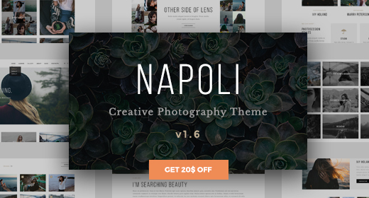 Special Selected Photography WordPress Themes Collection