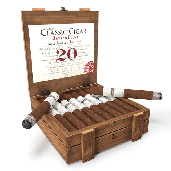 East India Classic cigar Havana Blend - 3DOcean Item for Sale