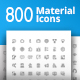 Material Design Icons - GraphicRiver Item for Sale