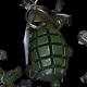 Falling Grenades Loop - VideoHive Item for Sale