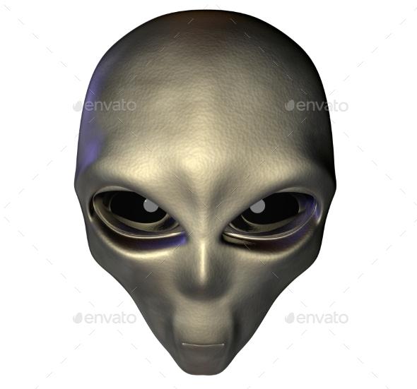 Alien 3d Render - Characters 3D Renders