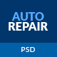 AutoRepair – Car Mechanic – PSD Template for Mechanic Workshop - ThemeForest Item for Sale