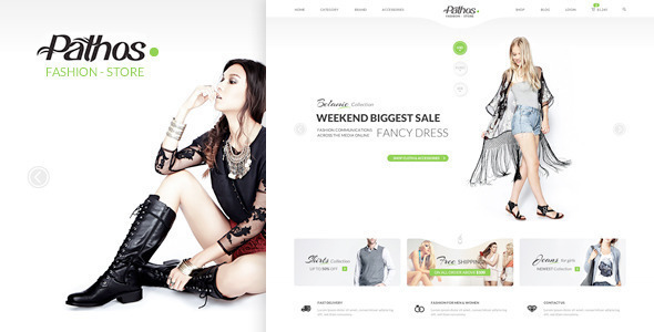 Pathos - eCommerce Responsive HTML Template - Shopping Retail