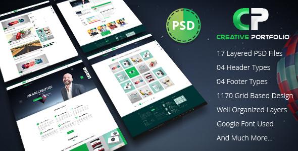 Creative Portfolio PSD Template