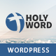 Holy Word - Church, Religion, Events WordPress Theme