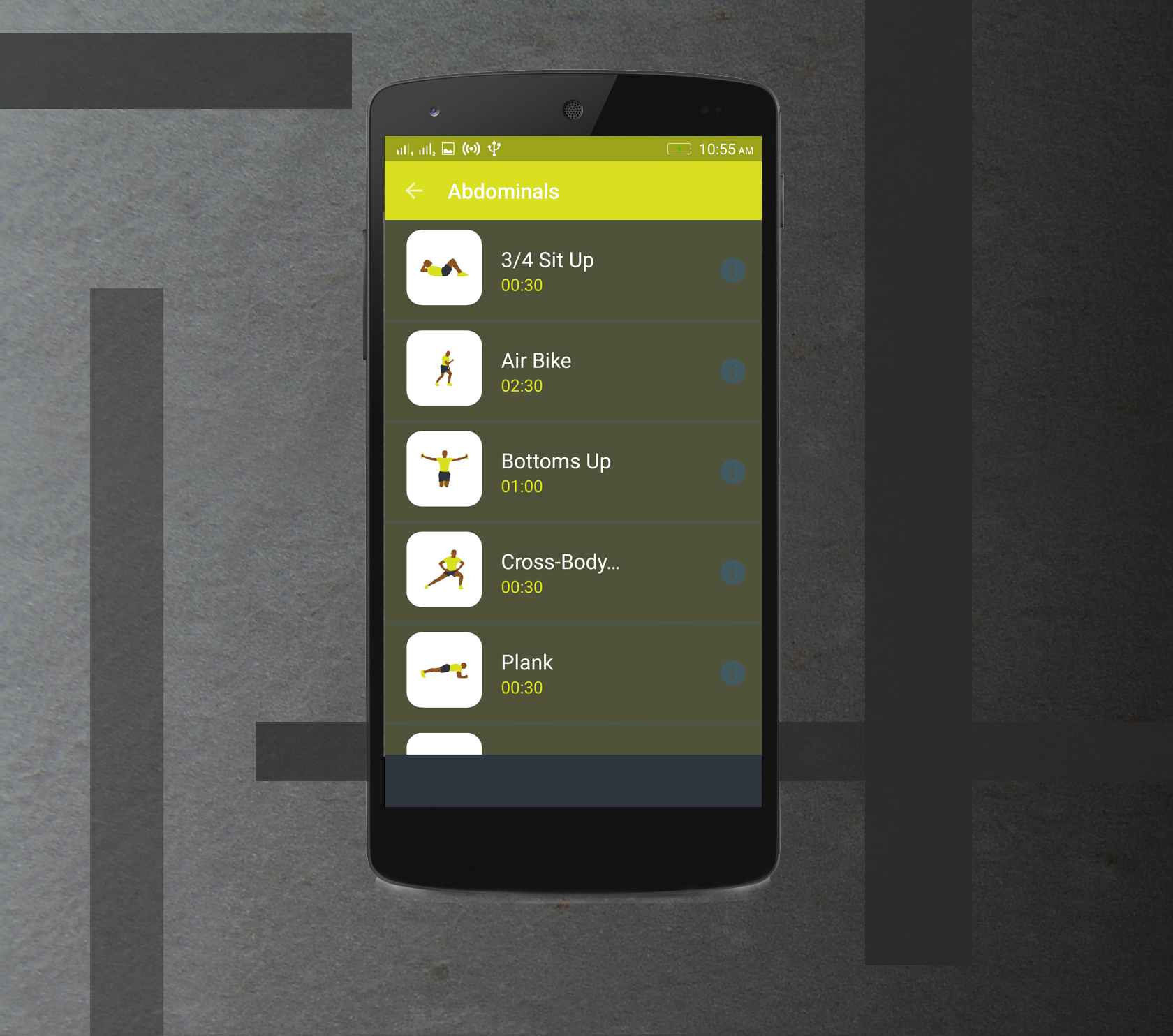 Workout Fitness Android Application Full Source code With ADMOB