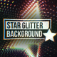 Colored Star Glitter Vj Loop - VideoHive Item for Sale