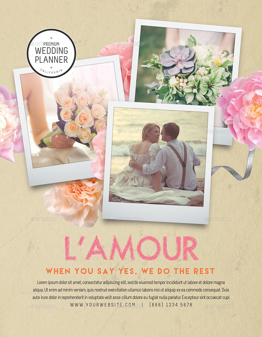 Wedding Planner Flyers