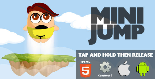 Mini Jump - HTML5 Game (CAPX) - CodeCanyon Item for Sale