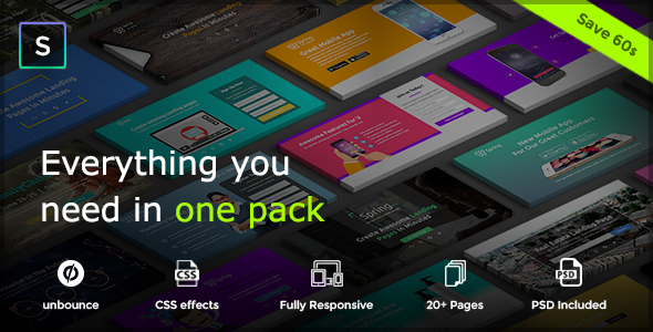 Spring – Multipurpose Unbounce Pack