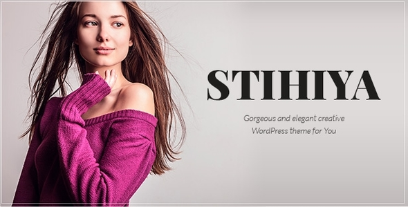 Stihiya | Photography, Agency and Blog WordPress Theme