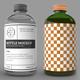 Glass Bottle Label MockUp - GraphicRiver Item for Sale