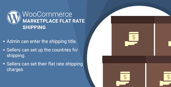 WordPress WooCommerce Marketplace Flat Rate Shipping Plugin - CodeCanyon Item for Sale