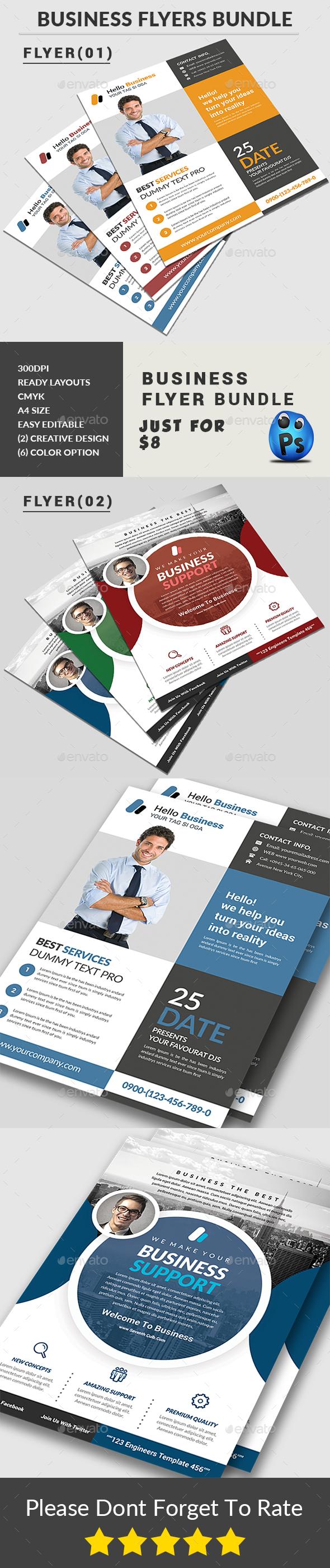 Business Flyers Bundle - Corporate Flyers