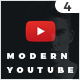 Modern Youtube Channel - GraphicRiver Item for Sale