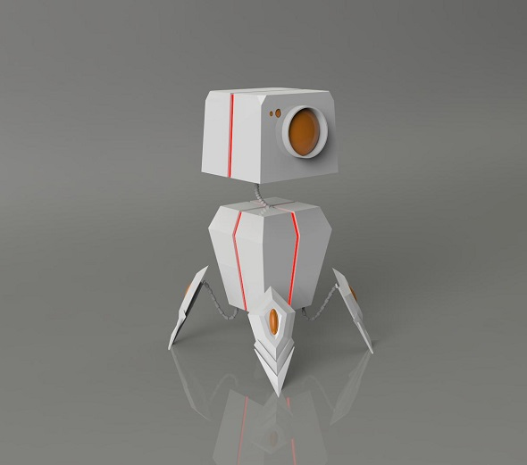 mini bot - 3DOcean Item for Sale