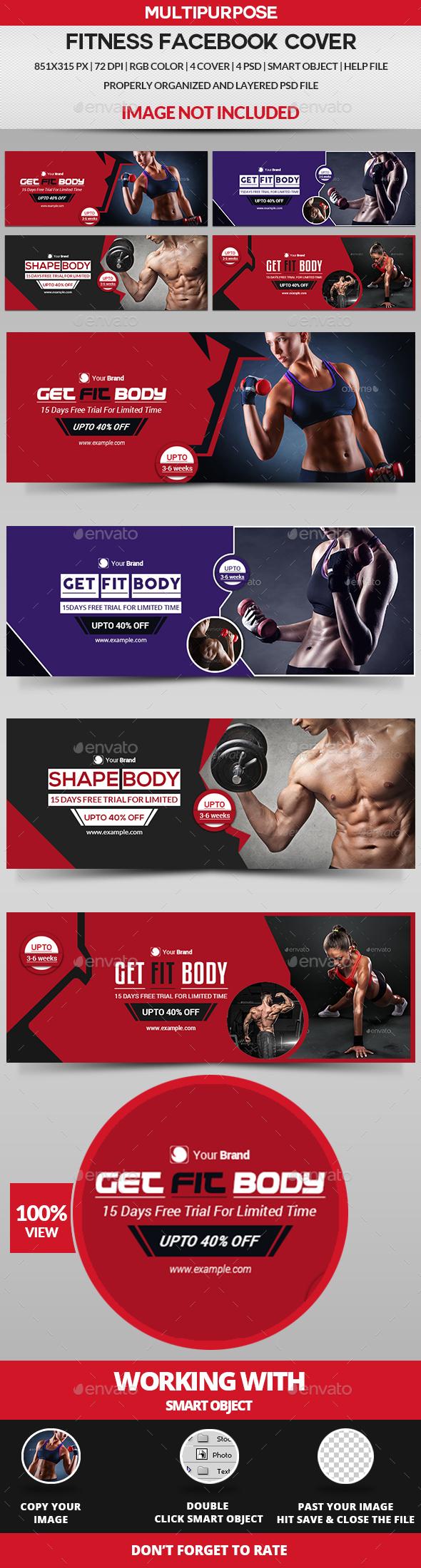 Fitness Facebook Cover - Facebook Timeline Covers Social Media