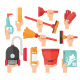 Cleaning Service Supplies - GraphicRiver Item for Sale