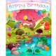 Happy Birthday Card with Animals in the Countryside - GraphicRiver Item for Sale