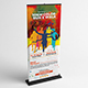Color Run Event Roll-Up Banner