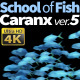 School of Fish Caranx-5 - VideoHive Item for Sale