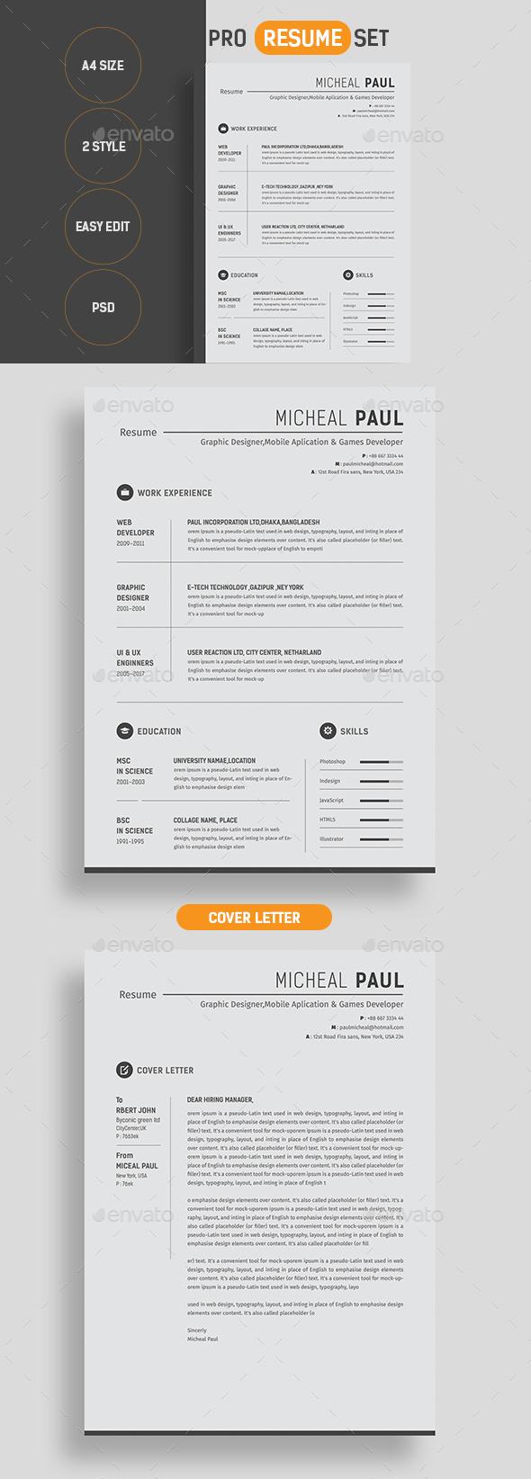 Pro Resume - Resumes Stationery