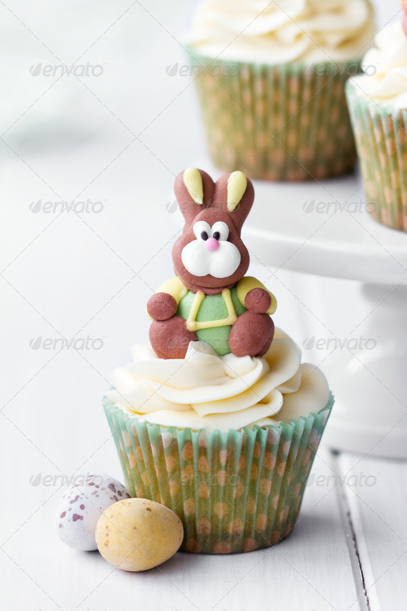 Easter cupcake - Stock Photo - Images