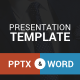 Presentation Template - PowerPoint And Word - GraphicRiver Item for Sale