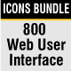 Web User Interface Icons - GraphicRiver Item for Sale
