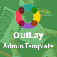 OutLay - Responsive Material Admin Template - ThemeForest Item for Sale