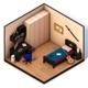 Bedroom Low Poly - 3DOcean Item for Sale