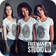Women's T-Shirts Mock-Up Vol.1 2017 - GraphicRiver Item for Sale