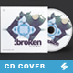 Broken Minimal - Audio CD Cover Artwork Template - GraphicRiver Item for Sale