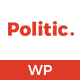 Politic – Political WordPress Theme - ThemeForest Item for Sale