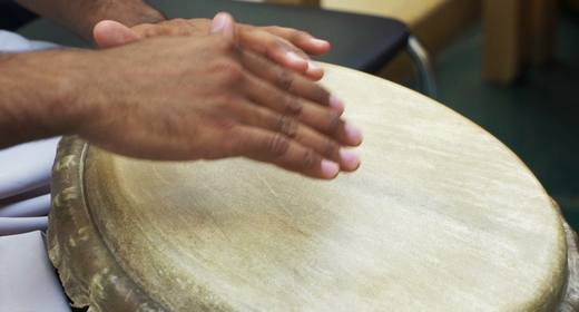 Friendly drum