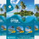 Holiday Travel / Tour Flyer Template - GraphicRiver Item for Sale