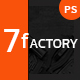 7fACTORY - Industrial & Manufacturing PSD Template