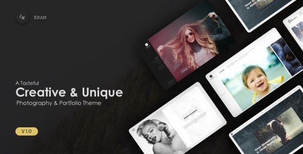 Eram – Innovative Photography Portfolio Theme