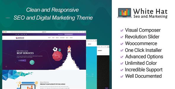 WhiteHat – SEO and Digital Marketing Theme