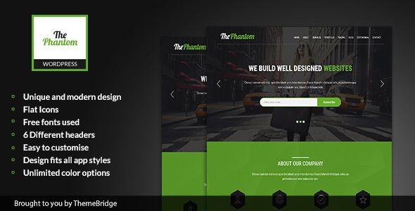 ThePhantom – Multipurpose WordPress Theme