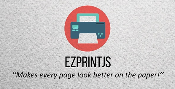 ezPrintJS - Simplify Page Printing - CodeCanyon Item for Sale