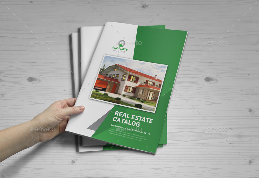 Real Estate Agency Brochure Catalog v4